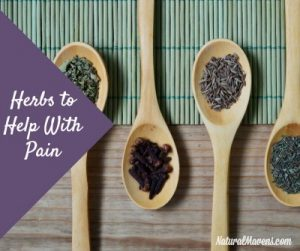 Herbs To Help With Pain