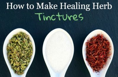 How To Easily Make Herbal Tinctures At Home