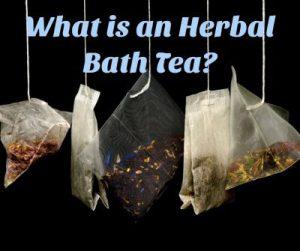 What Is A Herbal Bath Tea