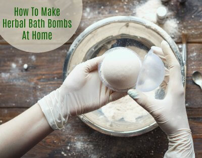 How to Make Herbal Bath Bombs at Home